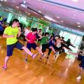 福岡リゾート&スポーツ専門学校 【グループエクササイズ体験】みんなで体を動かそう☆