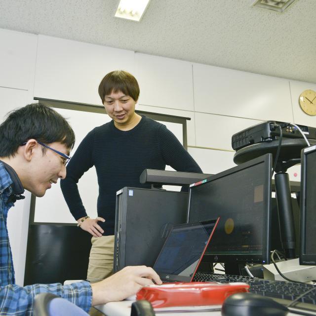 総合学園ヒューマンアカデミー大阪校 【ゲーム】ゲーム3DCG体験1