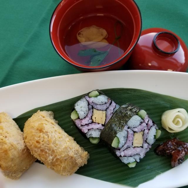 愛知調理専門学校 だしって何?美味しいお吸物と飾り寿司!2