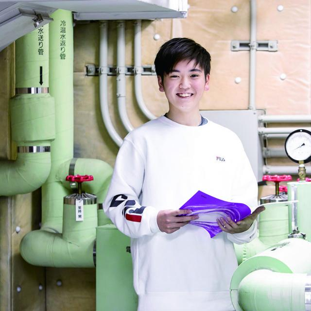 中央工学校 2019体験入学☆建築設備実験の体験をしよう!2