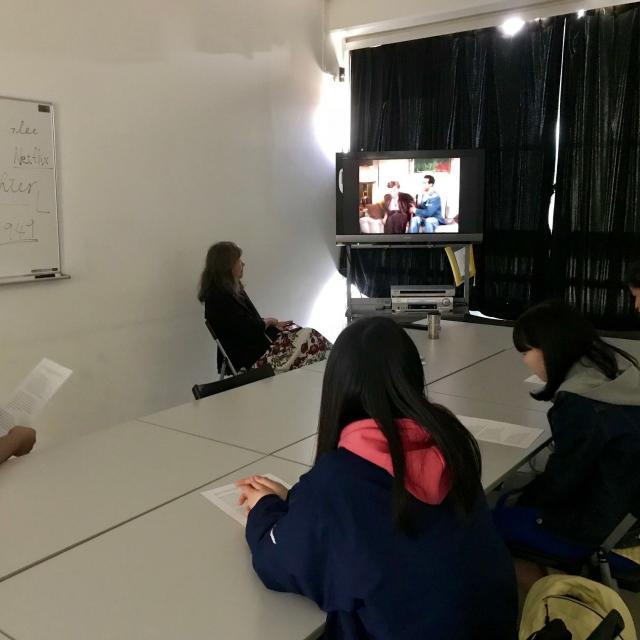 日本映画大学 高校生のための春期ワークショップ1