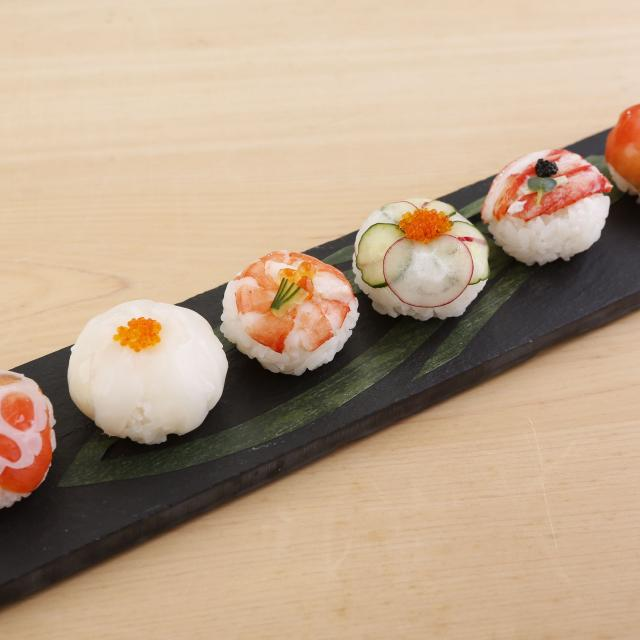 東京調理製菓専門学校 見た目かわいいてまり寿司2