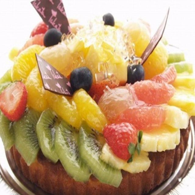 山手調理製菓専門学校 【製菓】夏のフルーツタルト1