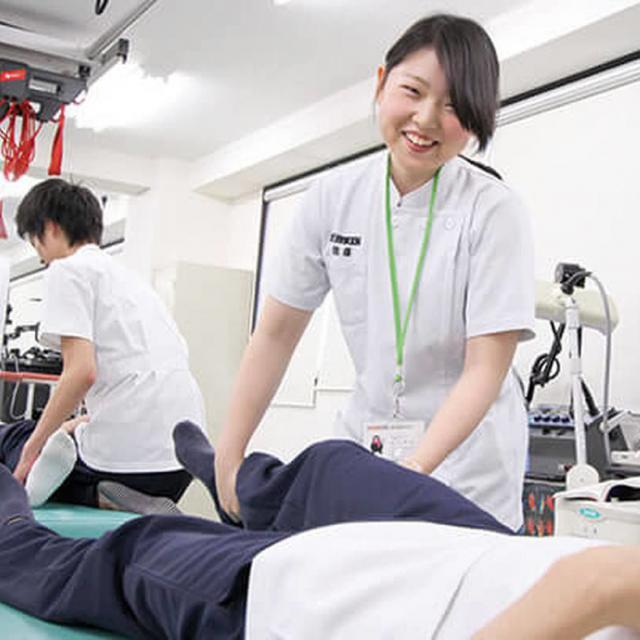 福岡医健・スポーツ専門学校 理学療法科 理学療法士体験1