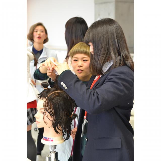 資生堂美容技術専門学校 資生堂のオープンキャンパス【授業見学コース】2