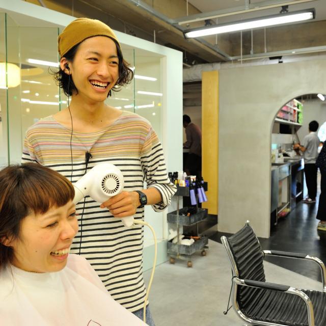札幌ビューティーアート専門学校 美容師&ヘアメイク体験1