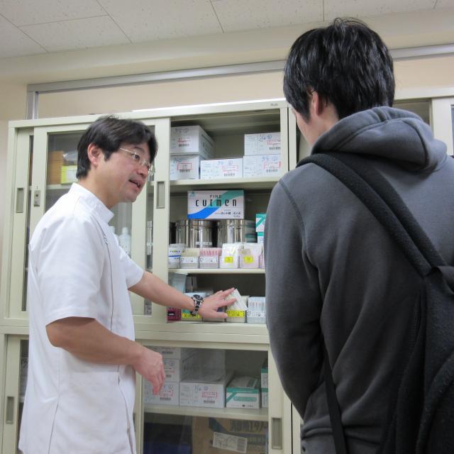 呉竹鍼灸柔整専門学校 ミニ説明会3