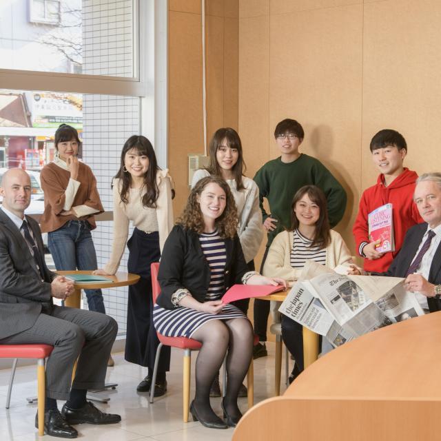 東北外語観光専門学校 オープンキャンパス*姉妹校キャスウェルとの合同開催1