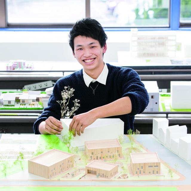 2017体験入学☆建築模型や建築CADを体験しよう!