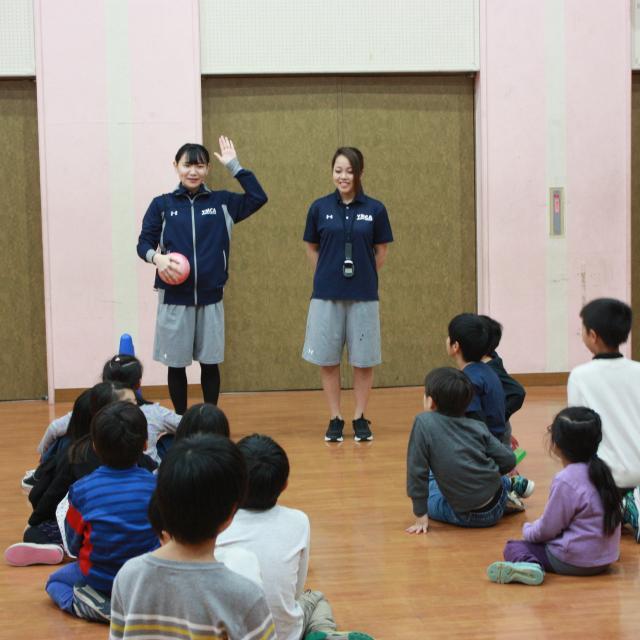 横浜YMCAスポーツ専門学校 子どもの運動神経を育てよう!キッズコーディネーション体験!2