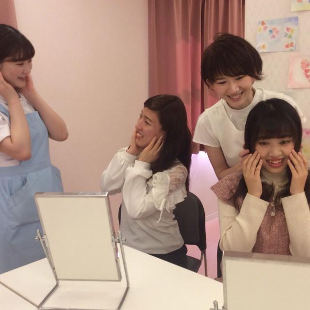 たかの友梨美容専門学校 夏イベント☆夏のヘアアレンジ&バンテージでお腹痩せ♪4