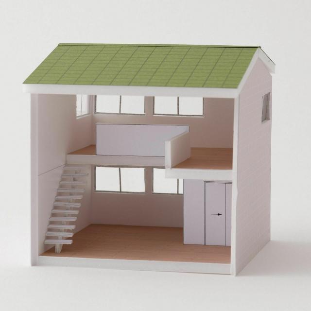 山脇美術専門学校 建築模型の制作体験♪7名以下で実施。交通費補助あり1