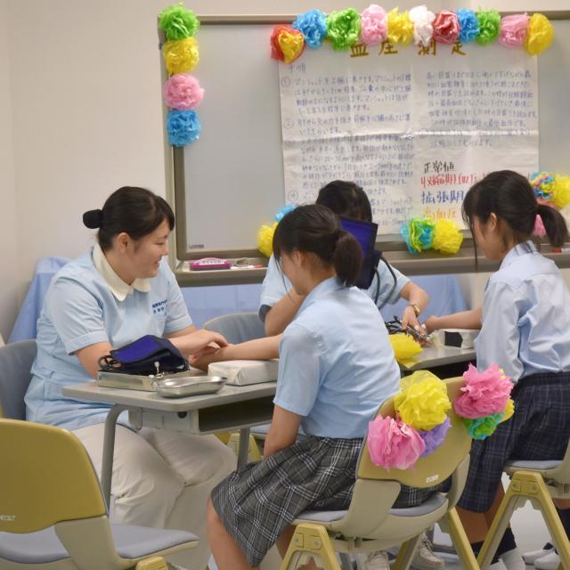 湘南平塚看護専門学校 オープンキャンパス3