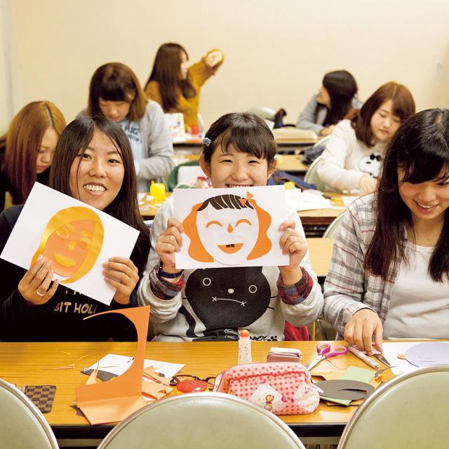 大阪保育福祉専門学校 体験授業「ことばで遊ぼう♪」4