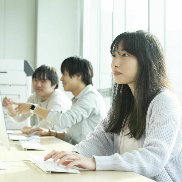 沼津情報・ビジネス専門学校 CGデザイン科 オープンキャンパス1