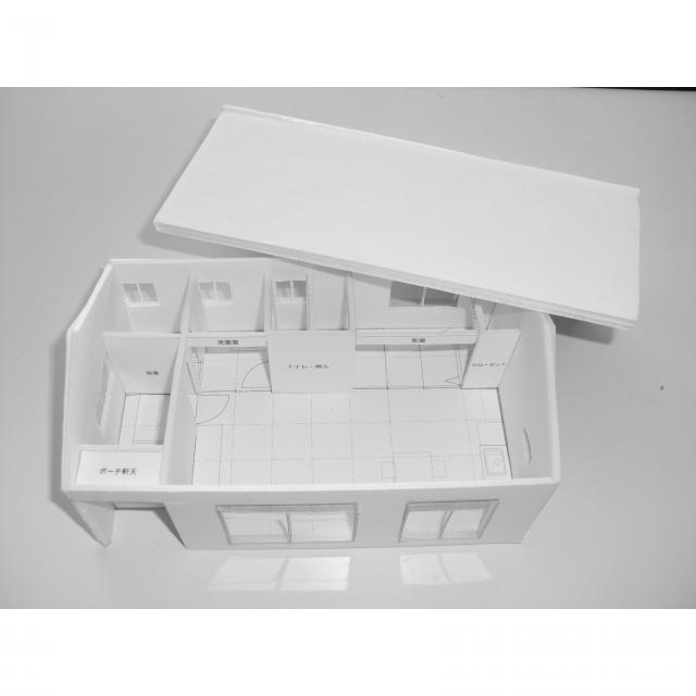 日本理工情報専門学校 体験イベント!「建築模型を作ろう!」1