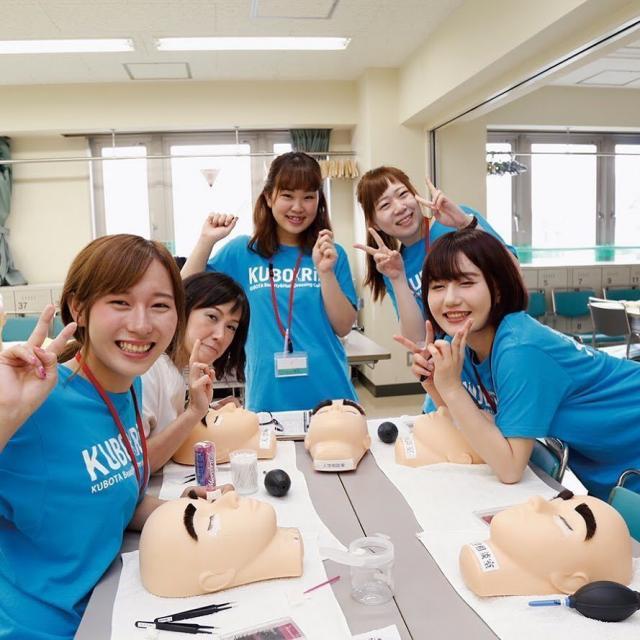 窪田理容美容専門学校 3月27日(水)『選べる体験実習』2