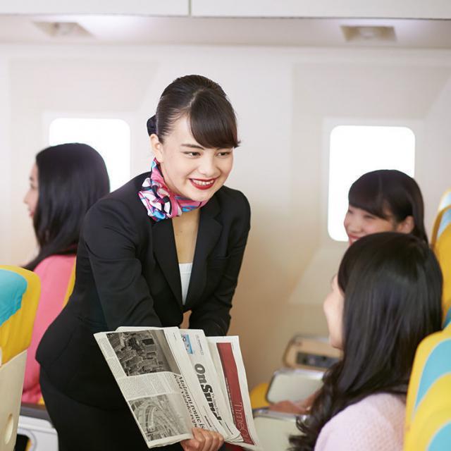 名古屋外語・ホテル・ブライダル専門学校 まだ間に合う!高校3年生大歓迎!国際エアラインコース2