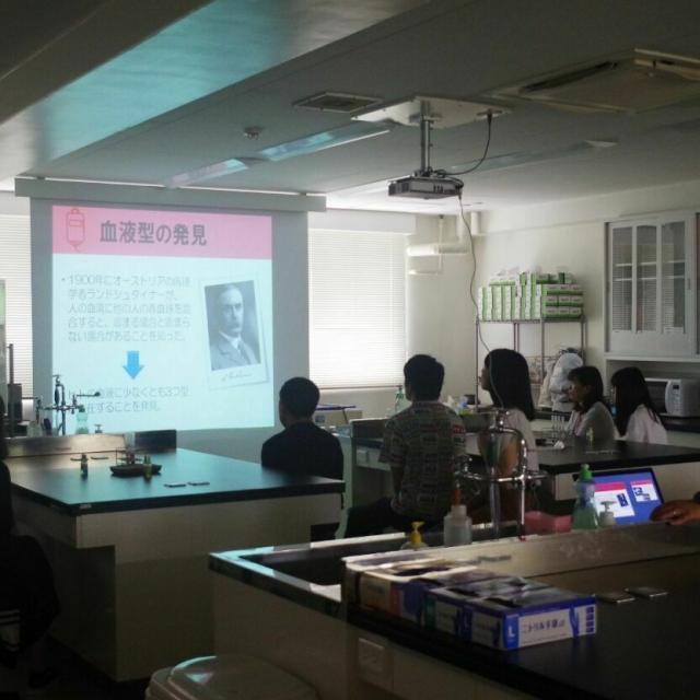 湘央医学技術専門学校 オープンキャンパス☆臨床検査技師 体験コース3