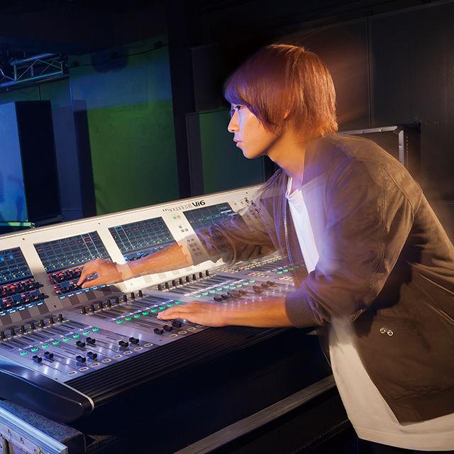 東放学園音響専門学校 音響技術科の体験入学「バンドミックスのPAを体験しよう!」1