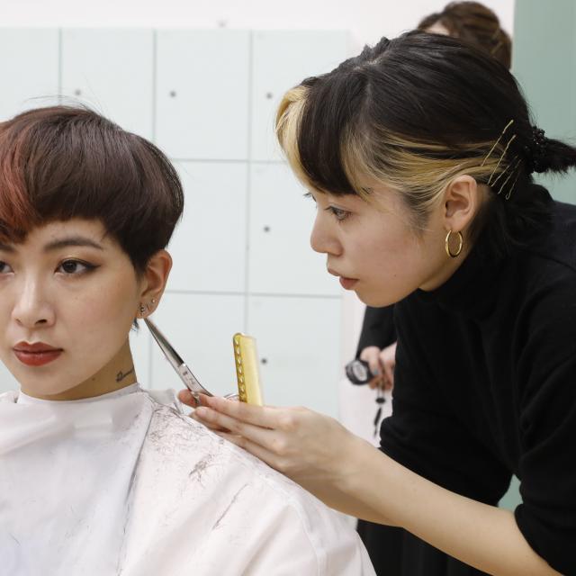 日本美容専門学校 2021 体験入学 【専門科】4
