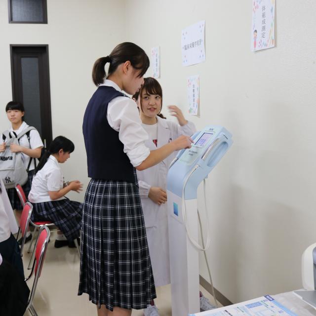 鹿児島純心女子大学 キャンパス見学会4