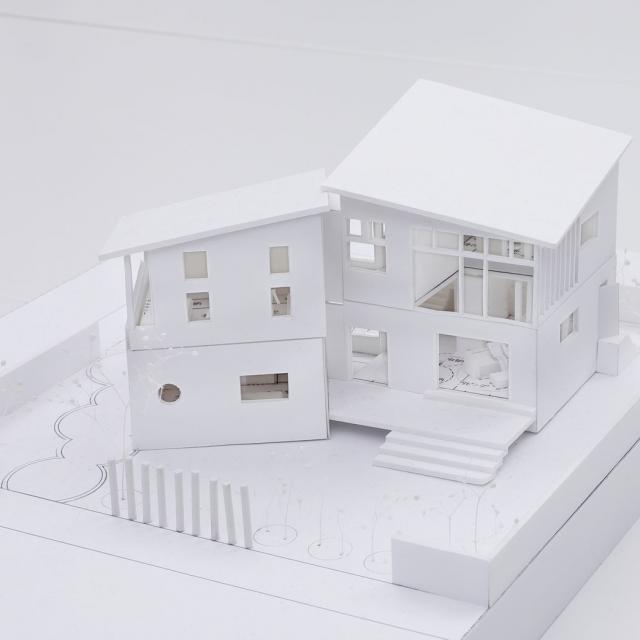 東京日建工科専門学校 春の特別オープンキャンパス【建築模型】1