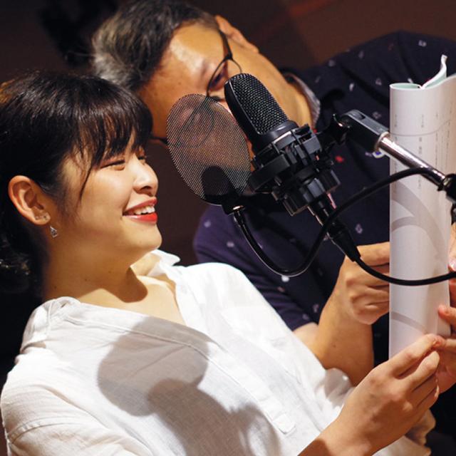 東京ダンス&アクターズ専門学校 初めてのアニメアフレコ 体験授業1