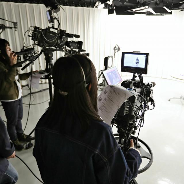 経専音楽放送芸術専門学校 初めてのテレビ業界体験!テレビ制作スタッフ体験3