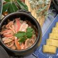 【日本料理】蟹土鍋ご飯とだし巻き玉子/東京山手調理師専門学校