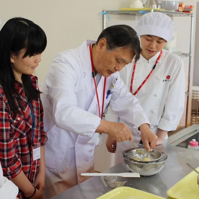 栄養士の仕事を体験!Foodオープンキャンパス【PM】