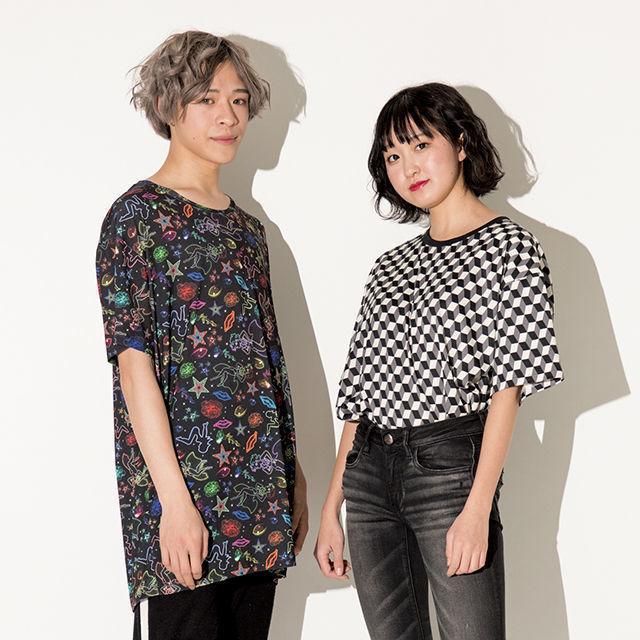 織田ファッション専門学校 Big Tシャツ製作1