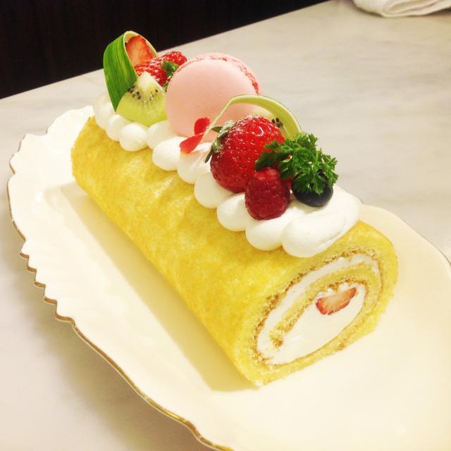 【製菓体験】フルーツロールケーキ(1人1台持ち帰り)