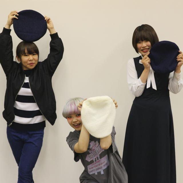 専門学校ファッションカレッジ桜丘 【体験実習A】製帽体験1