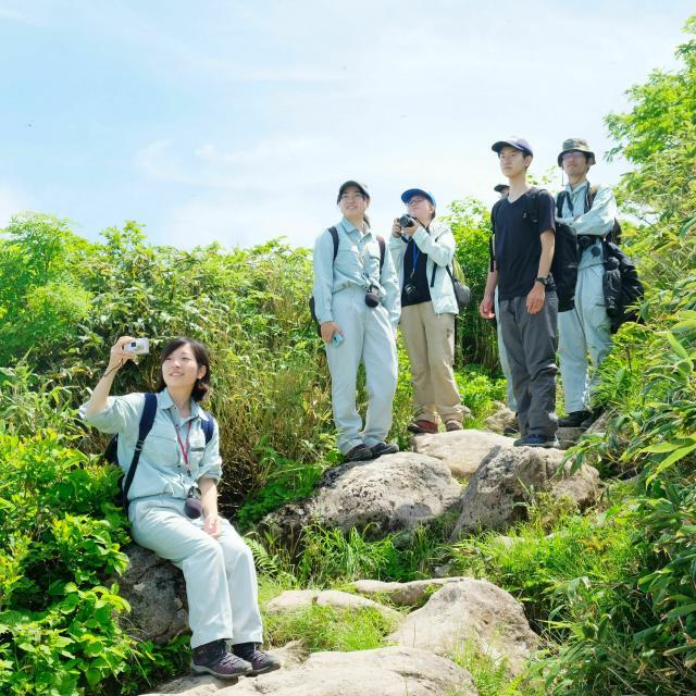 日本自然環境専門学校 自然環境を保全したい!1