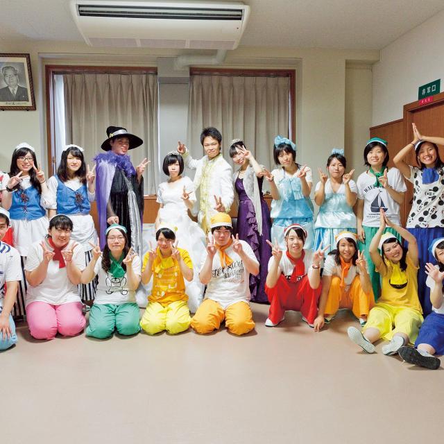 大阪保育福祉専門学校 ハロウィンパーティ☆3