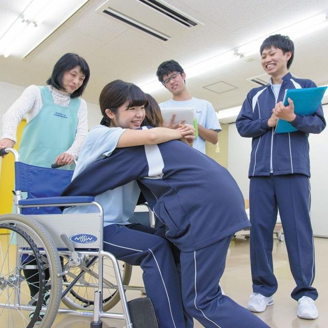 日本福祉大学中央福祉専門学校 中央福祉専門学校がわかる1日2