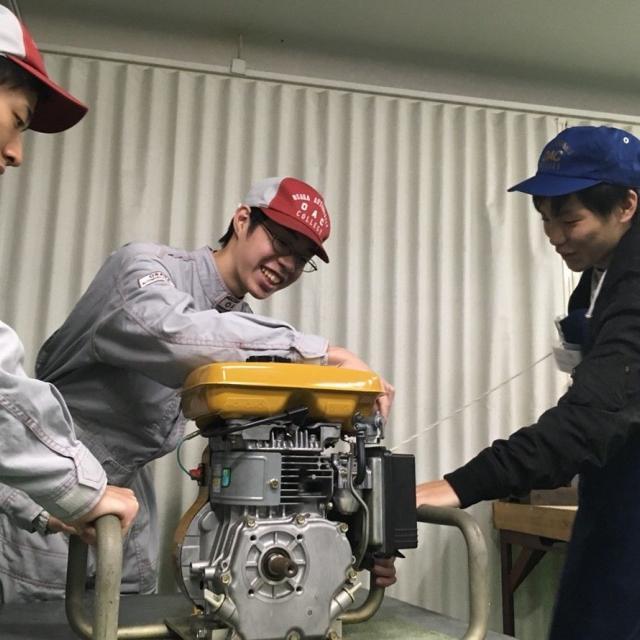 大阪自動車整備専門学校 オープンキャンパス3