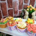 札幌ベルエポック製菓調理専門学校 【カフェ体験】デコレーションカップケーキ&ピーチティーソルベ