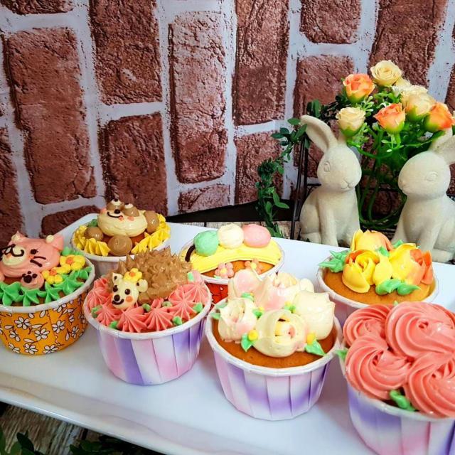 札幌ベルエポック製菓調理専門学校 【カフェ体験】デコレーションカップケーキ&ピーチティーソルベ1