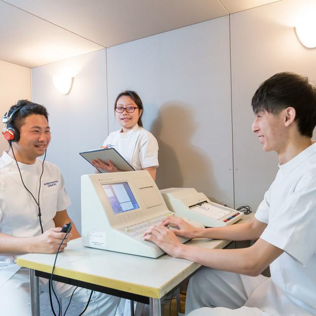 西武学園医学技術専門学校 東京池袋校 オープンキャンパス(言語聴覚学科)言語聴覚士のお仕事いろいろ3