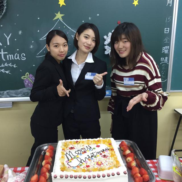 熊本電子ビジネス専門学校 クリスマスカフェ1