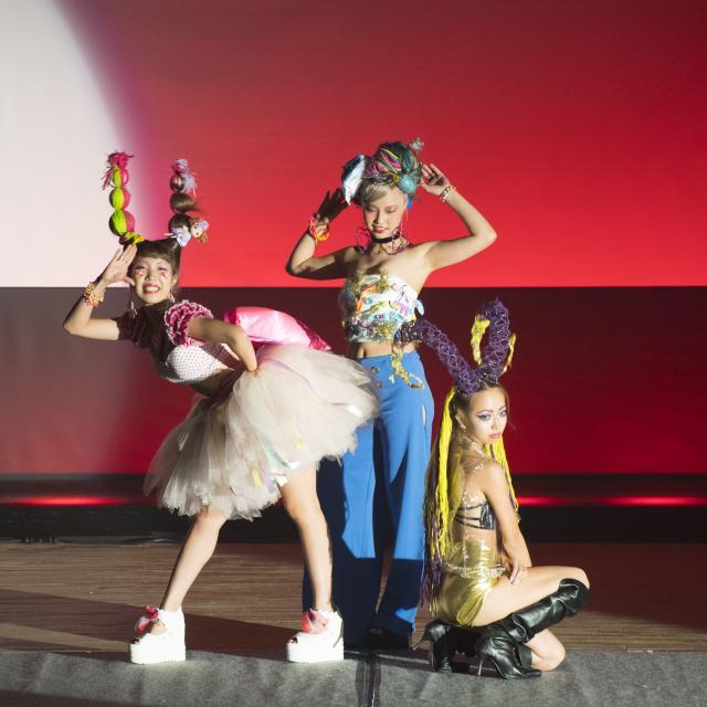 松本理容美容専門学校 マツビ クリスマスイベント20184