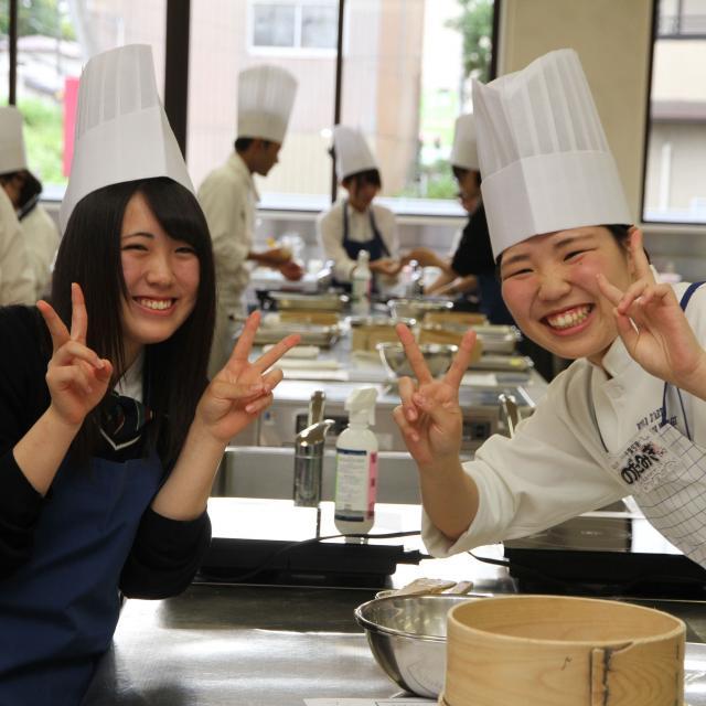 宮城調理製菓専門学校 体験実習!フランス料理・イタリア料理専攻&日本料理・すし専攻2
