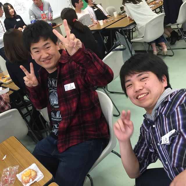 和歌山YMCA国際福祉専門学校 在校生と一緒に介護レクリエーション!1