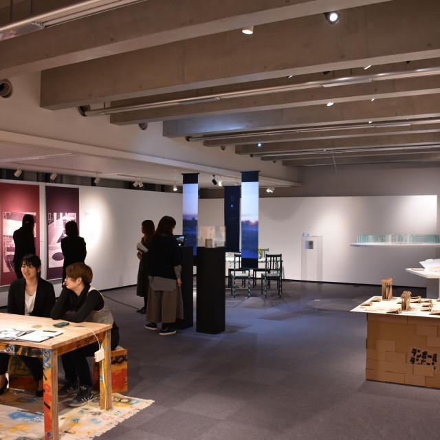 京都美術工芸大学 オープンキャンパスin卒業制作展1