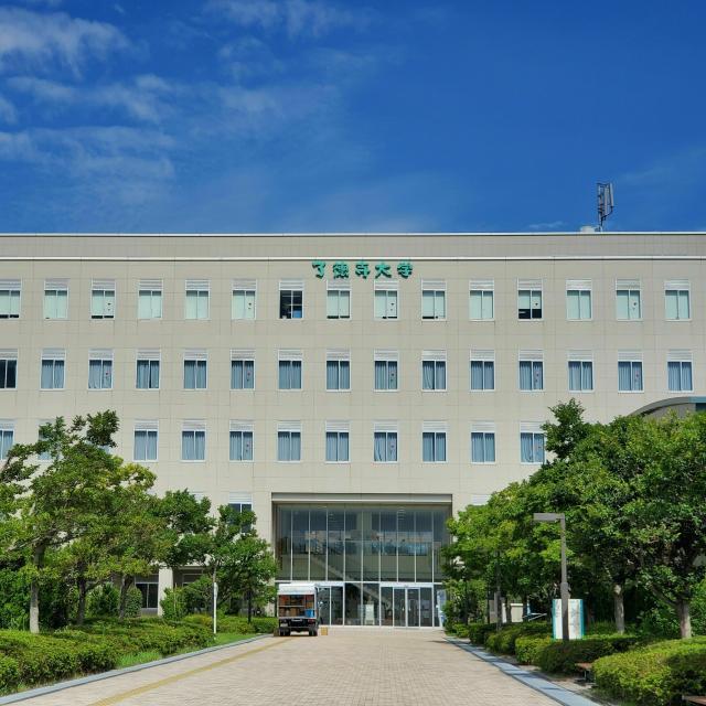 了徳寺大学 海と空と風に囲まれたキャンパスをあなたの目で見てみよう!4