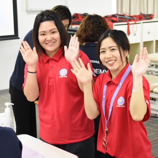 専門学校 琉球リハビリテーション学院 オープンキャンパス:理学療法学科2