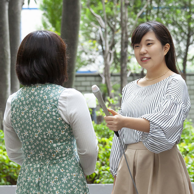 専門学校東京アナウンス学院 アナウンス科の体験入学「声の仕事の基礎レッスン」1