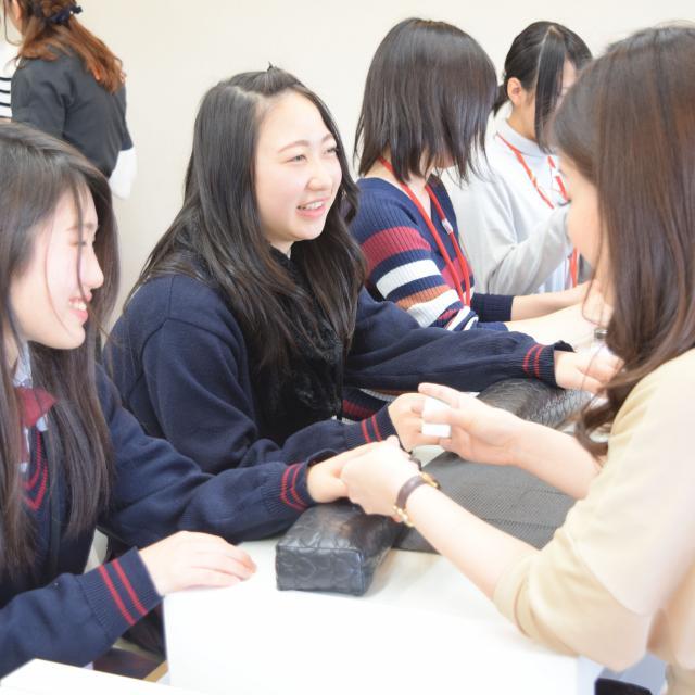 大阪ビューティーアート専門学校 【ネイル】ネイルでおしゃれに♪オープンキャンパス2